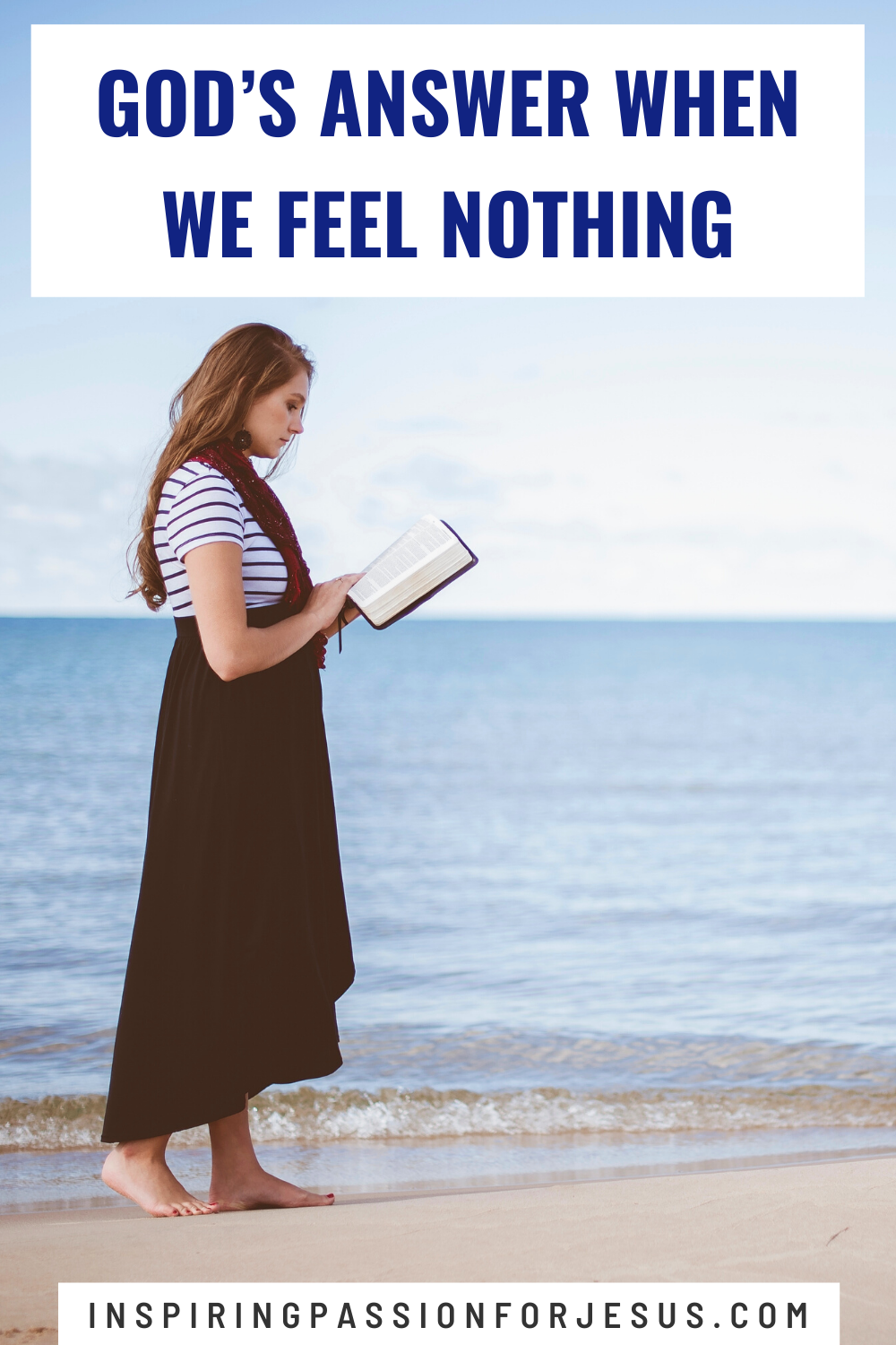God's Answer When We Feel Nothing