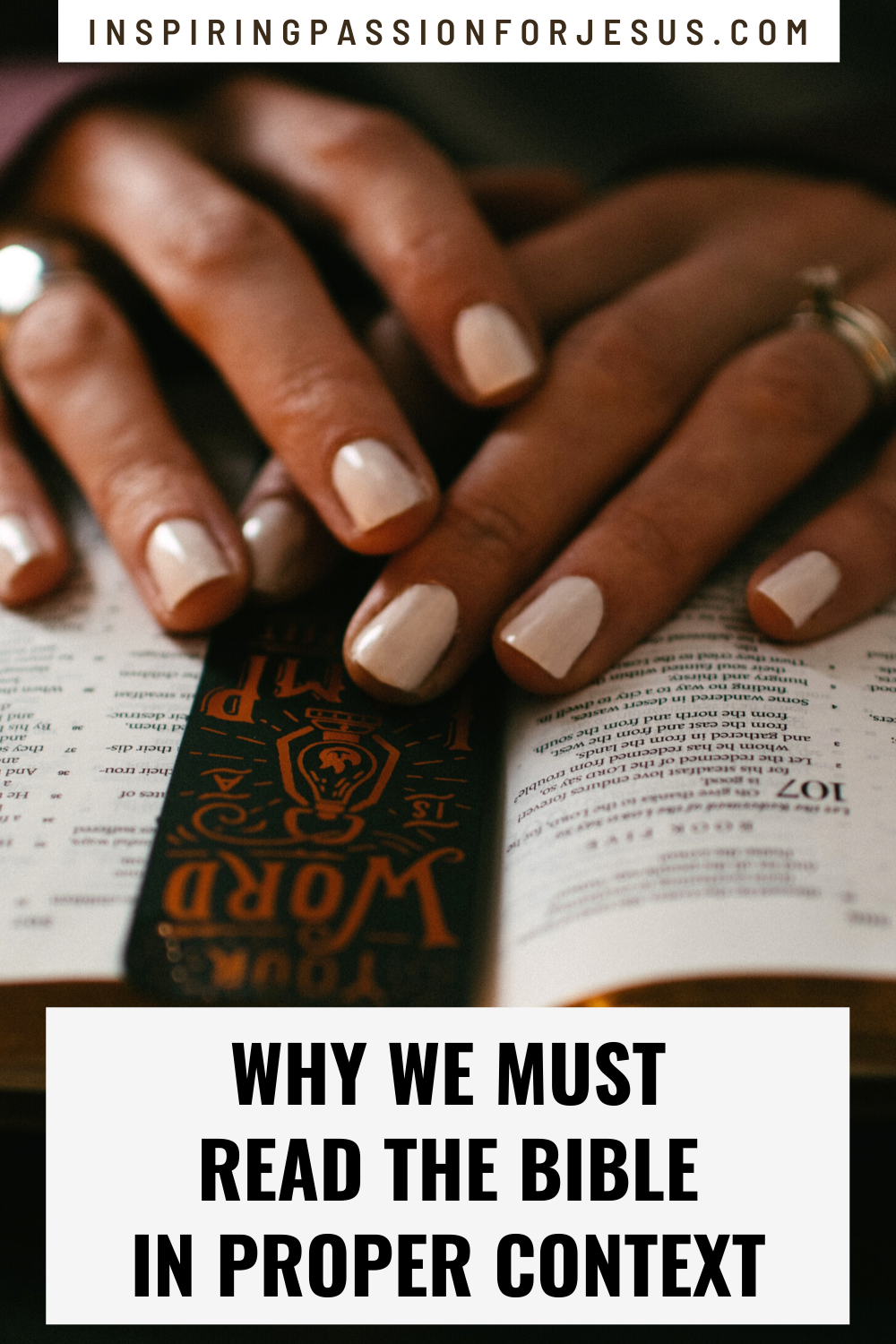 Why We Must Read the Bible in Proper Context